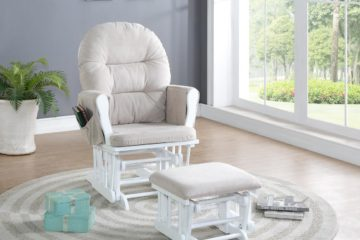 Naomi Home Brisbane Glider & Ottoman Set Review